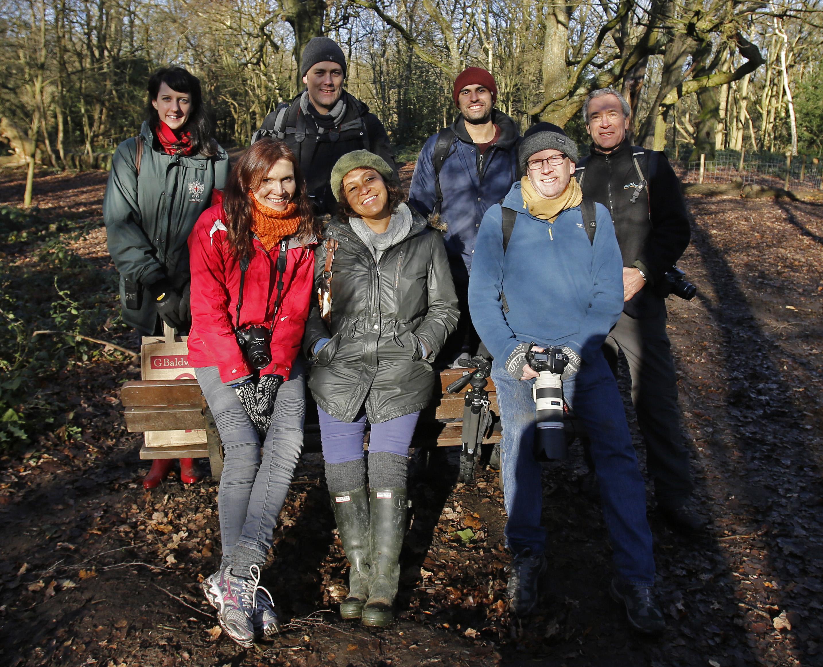 December Heath photo workshop group