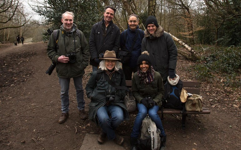 Nature Photography Workshop on Hampstead Heath 14/3/15