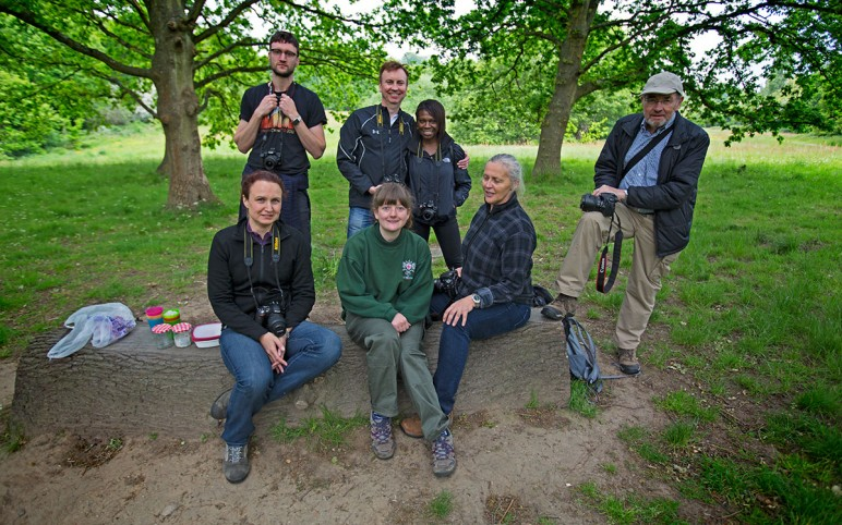 Spring Nature Photography Workshop on Hampstead Heath