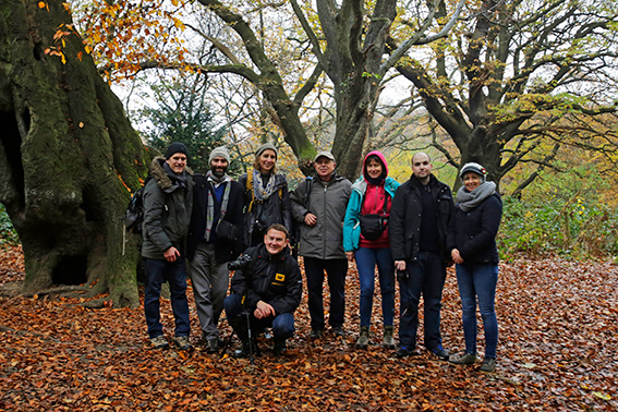 Hampstead Heath Photography Workshop November 18th 2017